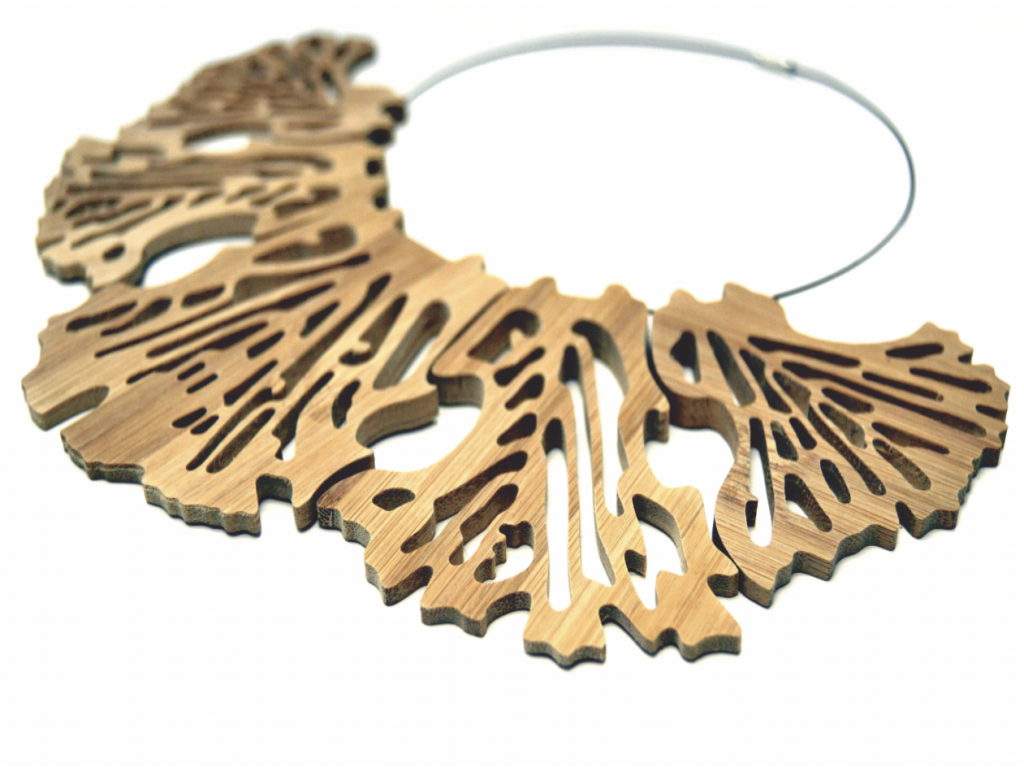 Leaf – Bamboo Necklace