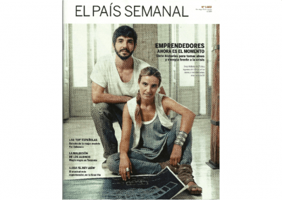 News paper El Pais. Spain
