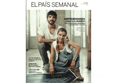 News paper El Pais. Spain