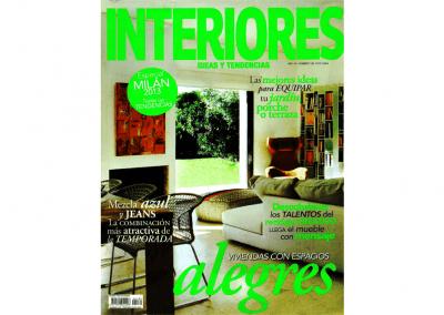 INTERIORES. Spain 2013