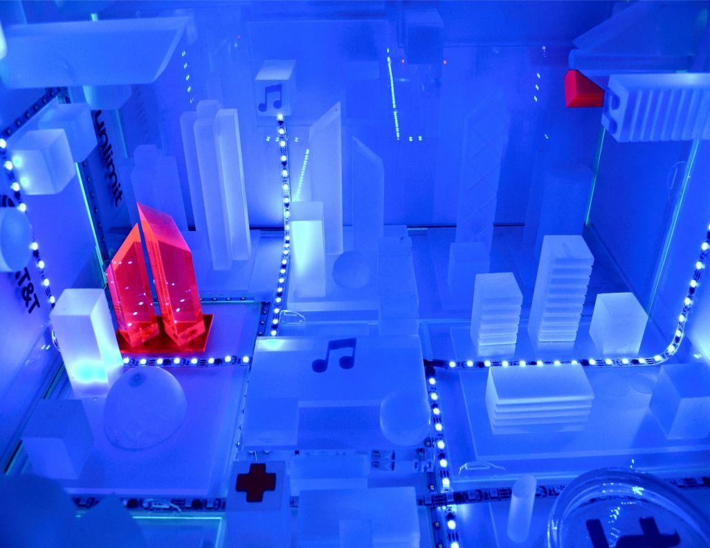 Inmersive Installation MWC 2017, Barcelona
