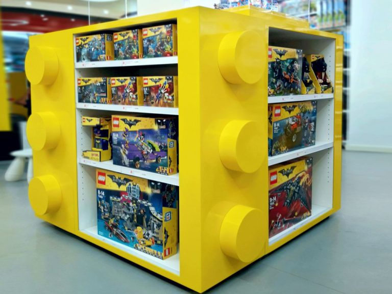 New Display for Lego Store, Barcelona